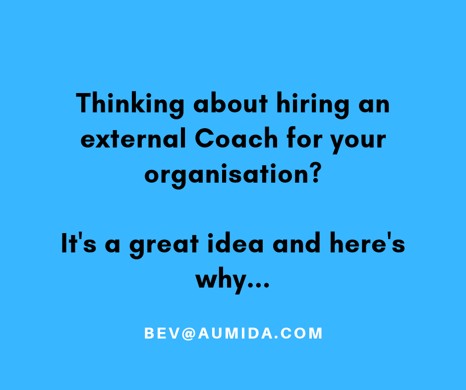 Why hiring a Coach for your organisation will turbo charge your results...